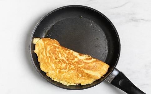 Preparazione Omelette farcita - Fase 3