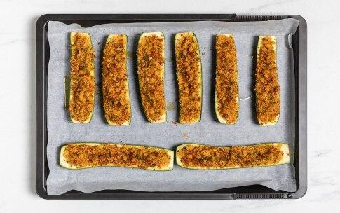 Preparazione Zucchine ripiene vegetariane - Fase 3