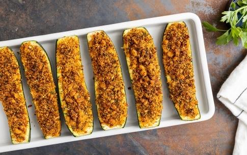 Preparazione Zucchine ripiene vegetariane - Fase 4