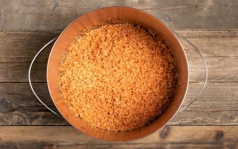 Preparazione Dahl di lenticchie - Fase 1