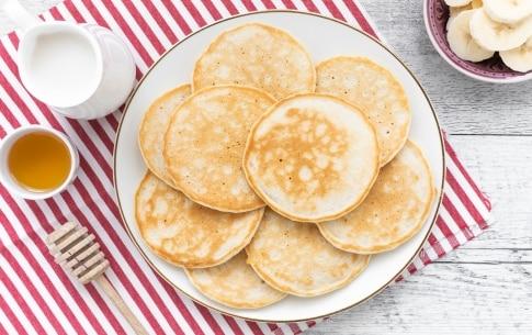Preparazione Pancake senza uova - Fase 2