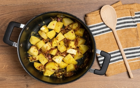 Preparazione Patate piccanti - Fase 1