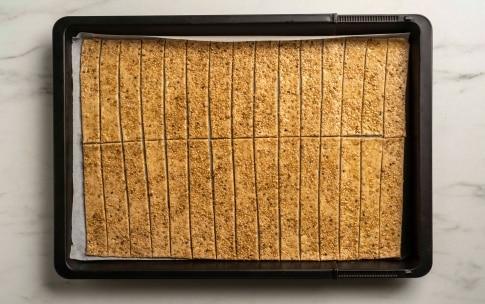 Preparazione Crackers al sesamo con lievito madre - Fase 2