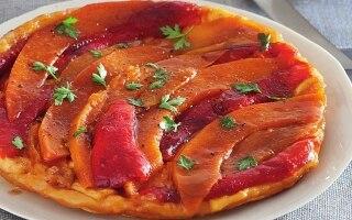 Tatin di zucca e peperoni allo zenzero