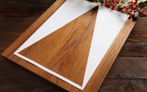 Preparazione Albero di Natale ai formaggi - Fase 1