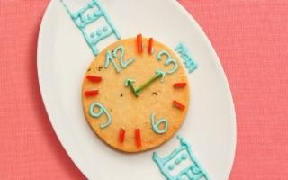 Biscottoni orologio al timo e parmigiano
