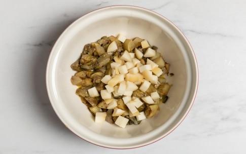 Preparazione Torta salata con carciofi e patate - Fase 2