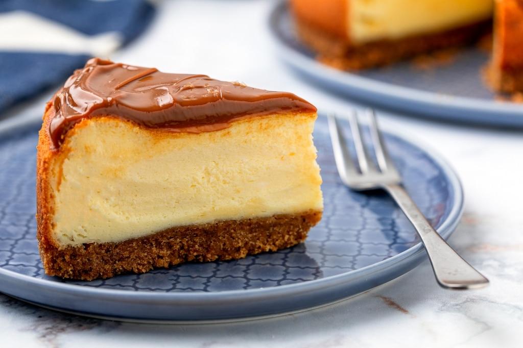 Cheesecake cotta con ricotta