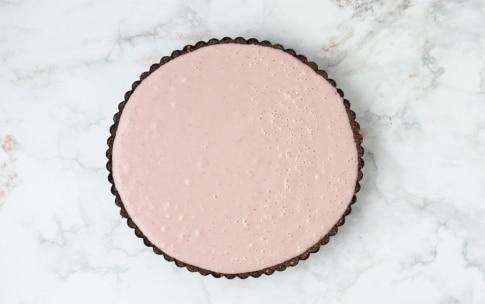 Preparazione Torta al cioccolato bianco e lamponi - Fase 3