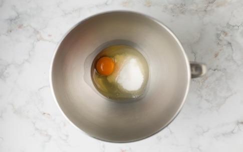 Preparazione Ciambelline alla crema Baci Perugina - Fase 1