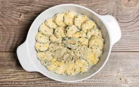 Preparazione Zucchine al forno con il panko - Fase 2