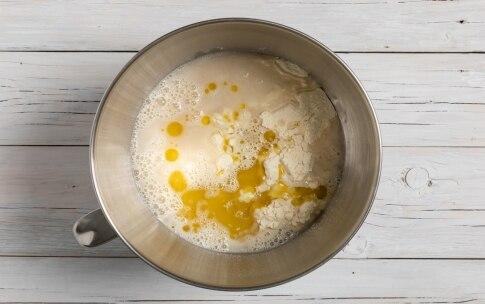 Preparazione Calzoni di kamut con asparagi e uovo - Fase 1