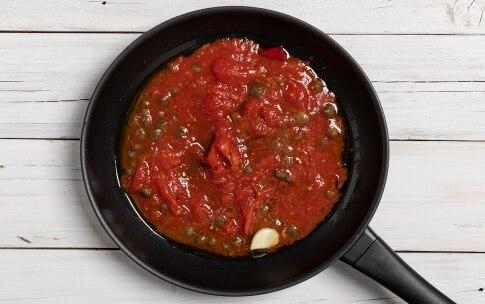 Preparazione Pasta alla puttanesca - Fase 1