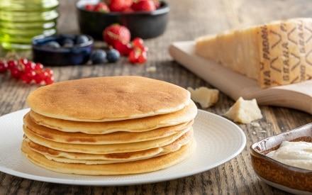 Pancake salati al Grana Padano DOP
