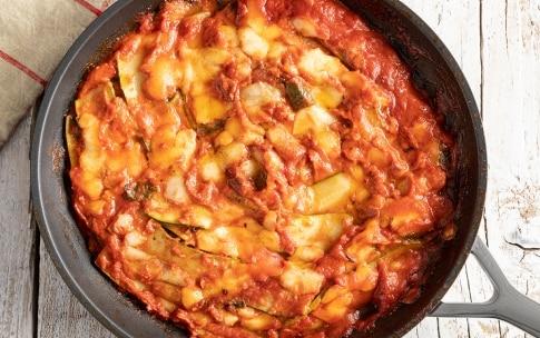 Preparazione Parmigiana di zucchine in padella - Fase 4