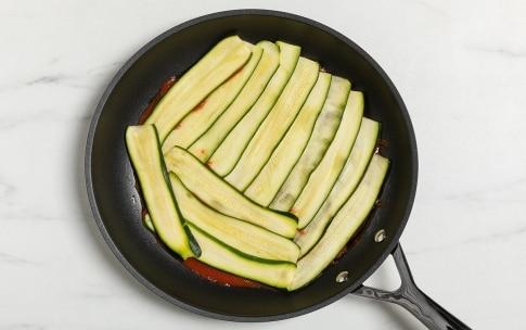 Preparazione Parmigiana di zucchine in padella - Fase 2
