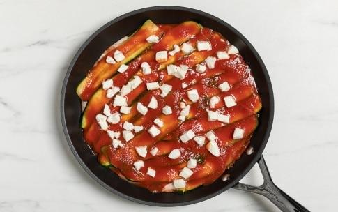 Preparazione Parmigiana di zucchine in padella - Fase 3