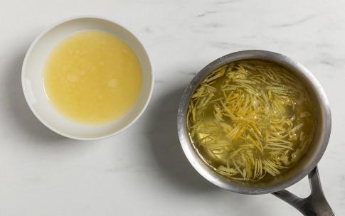 Preparazione Sorbetto al limone - Fase 1