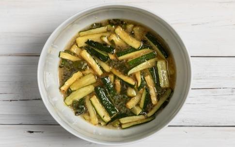 Preparazione Zucchine in carpione - Fase 3