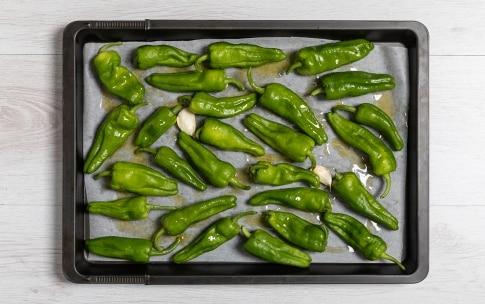 Preparazione Friggitelli al forno - Fase 1