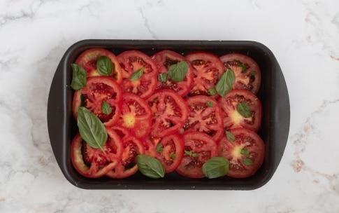 Preparazione Branzino e pomodori al forno - Fase 1