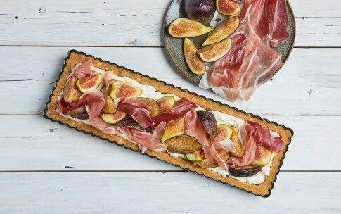 Preparazione Cheesecake salata senza cottura fichi e Speck Alto Adige IGP - Fase 3