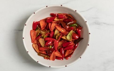 Preparazione Confettura di peperoncini piccanti - Fase 1