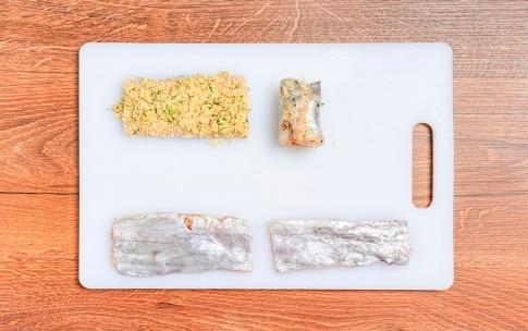 Preparazione Involtini di pesce spatola - Fase 2