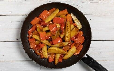 Preparazione Patate e peperoni - Fase 2