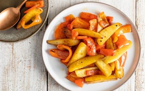 Preparazione Patate e peperoni - Fase 3