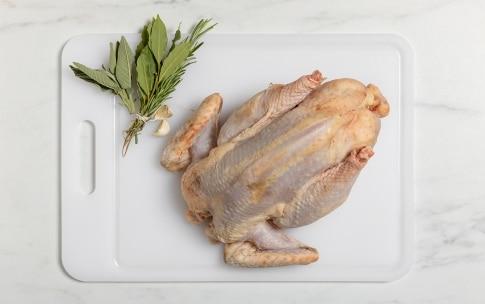 Preparazione Pollo di Bresse al forno - Fase 1
