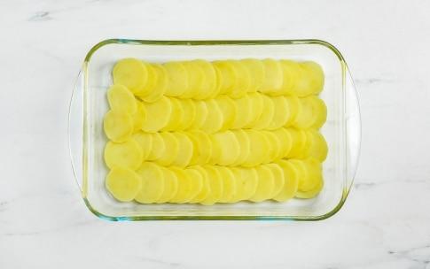 Preparazione Sgombro con patate al forno - Fase 1