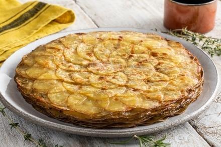 Tortino di patate al forno