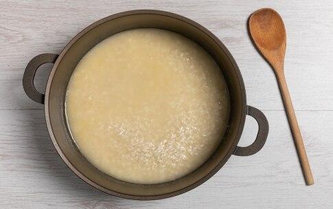 Preparazione Risotto al parmigiano - Fase 1