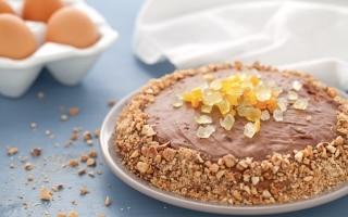 Torta di crepes con mousse di cioccolato